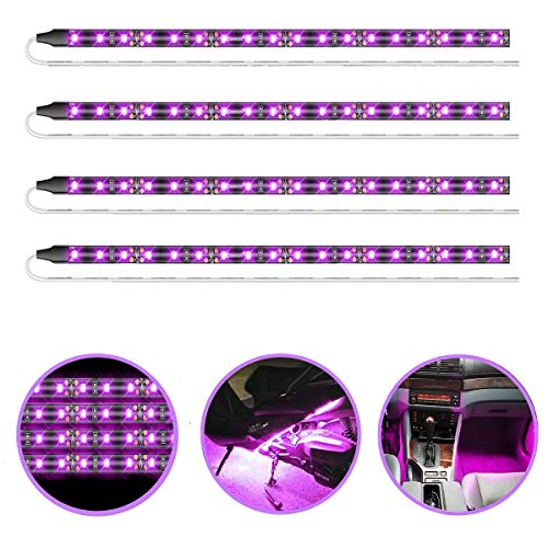 purple led lights car - 3