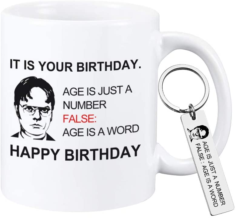 It Is Your Birthday Coffee Mug The Office Merchandise Birthday Mug for Dwight Schrute Fans The Office Quote Coffee Cup