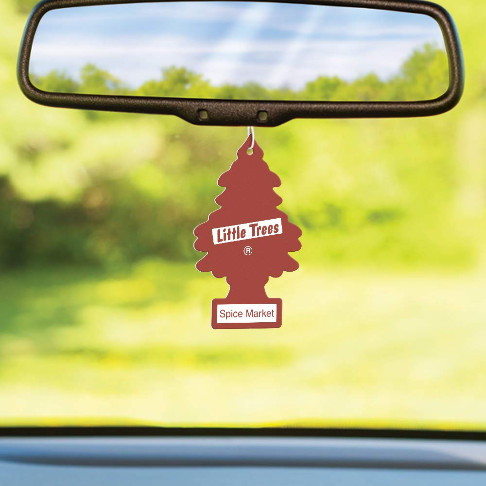 LITTLE TREES auto air freshener, Spice Market, 6-packs (4 count) by Little Trees (Image #4)