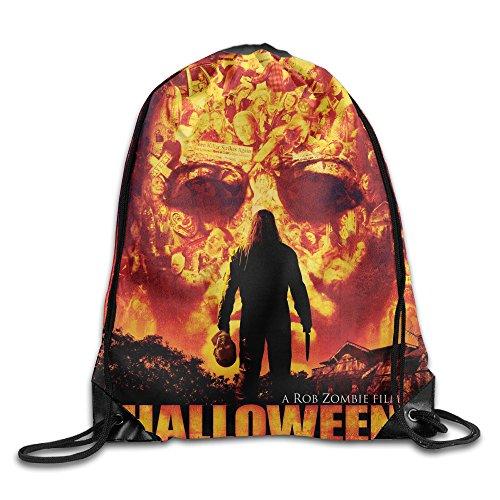 Halloween A Rob Zombie Film Portable Sport Bag Drawstring Backpack/Rucksack -