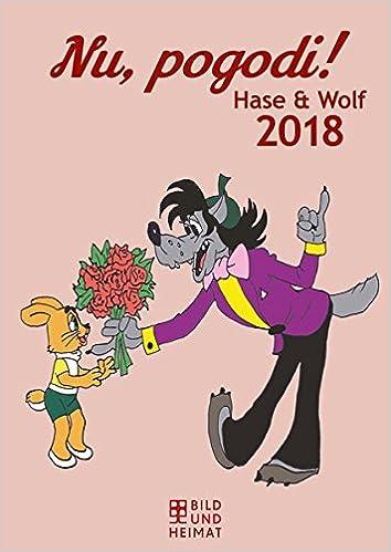 Nu Pogodi 2018 Hase Und Wolf Wandkalender Amazon Co Uk Books