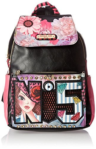 nicole-lee-backpack-pink-one-size