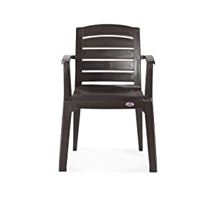 Nilkamal Passion Chair (Weather Brown)