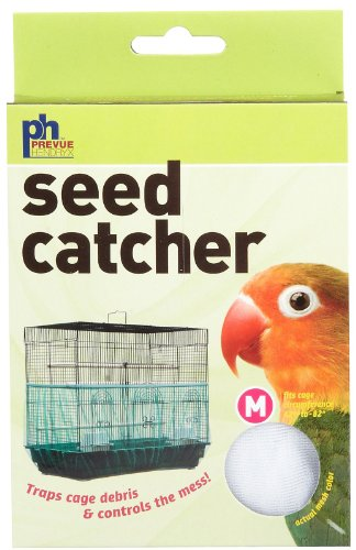 Prevue Pet Products Seed Guard Nylon Mesh Bird Seed Catcher,
