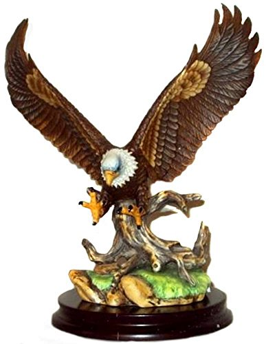 Andrea by Sadek Open Wing Eagle Bird Figurine