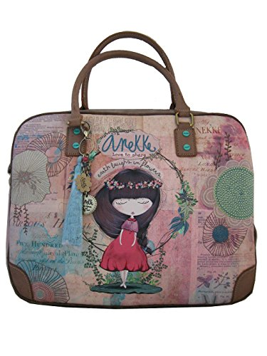 Genuine ANEKKE Document Case, Shoulder Bag, Adjustable Shoulder Strap