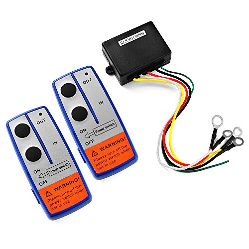 XCSOURCE Heavy Duty 24V Wireless Electric Winch + 2 Remote Control Switch Handset for Car JEEP ATV SUV BI568 by XCSOURCE (Image #2)