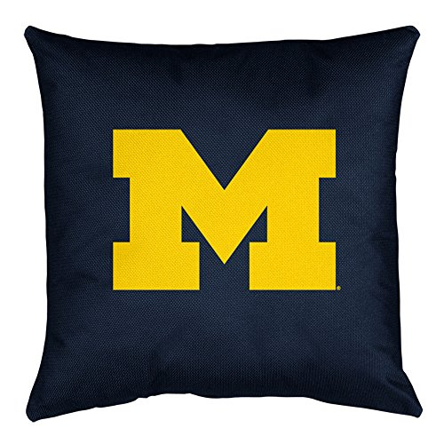 Sports Coverage NCAA Michigan Wolverines Locker Room Pillow