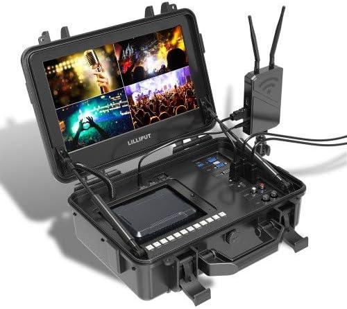 LILLIPUT BM120-4KS 12.5 & quot;  Màn hình 4K với 3D LUTS và HDR 4K Độ phân giải gốc Ultra-HD, Che 137% Rec709 97% NTSC 90% Không gian màu DCI-P3 Không gian màu Sắc nét Màu giả & amp;  Mã thời gian