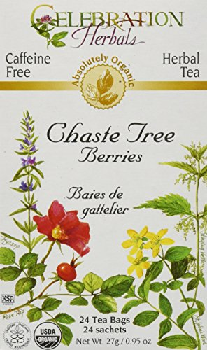 Celebration Herbals Organic Chaste Berries