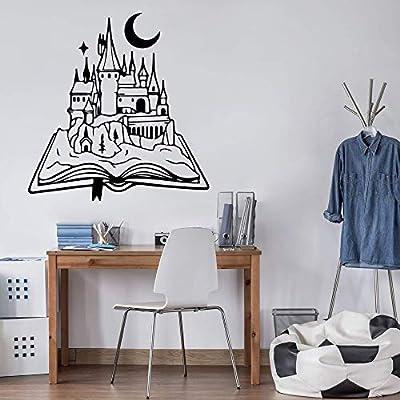 Diseño de sala de estudio de dibujos animados extraíble decoración ...