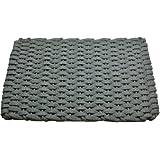 Rockport Rope Doormats 2030206 Indoor and Outdoor Doormats, 20 by 30-Inch, Gray