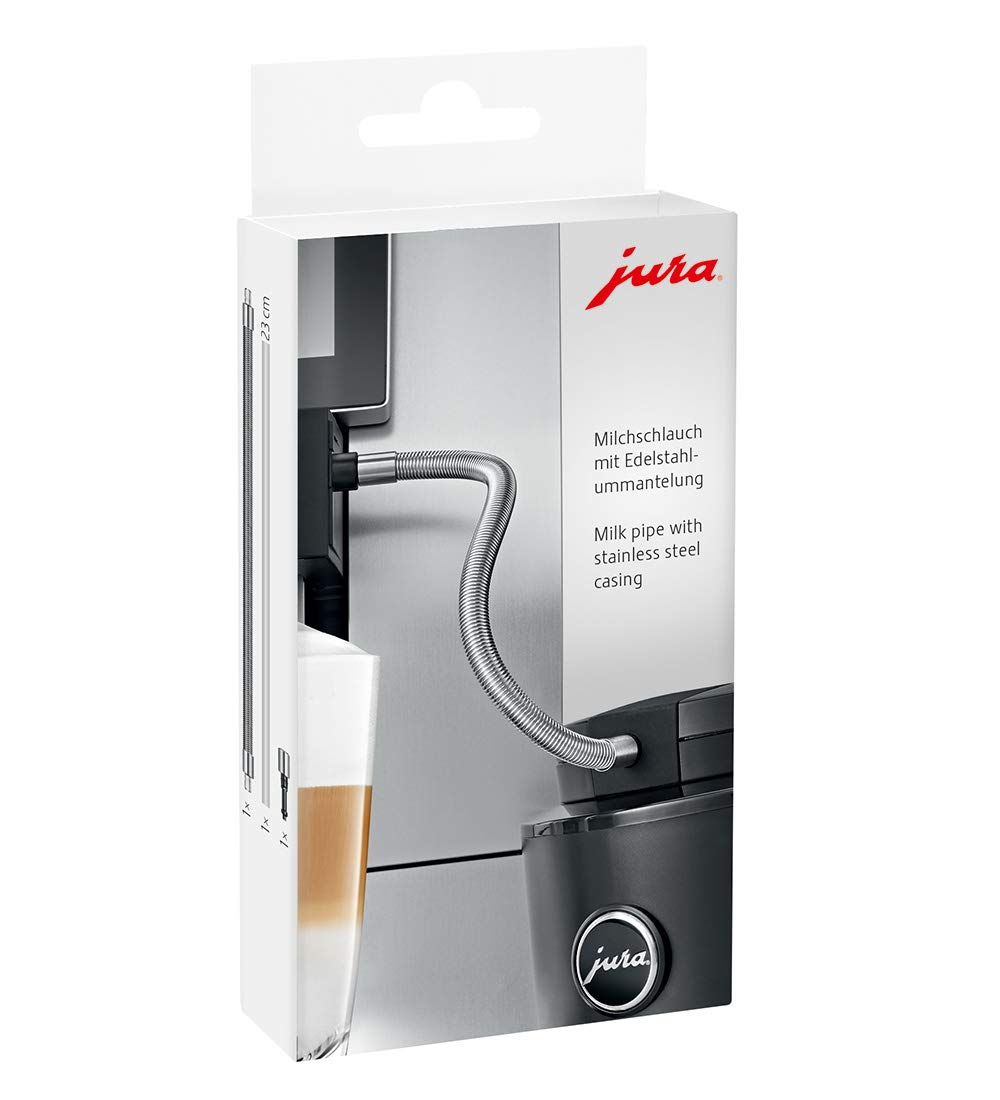 Jura Milk Pipe with Stainless Steel casing (Non GIGA)