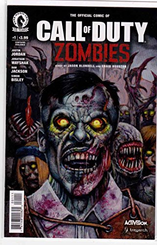 Call of Duty Zombies #1 (2016) Simon Bisley Cover (Bisley Cover)