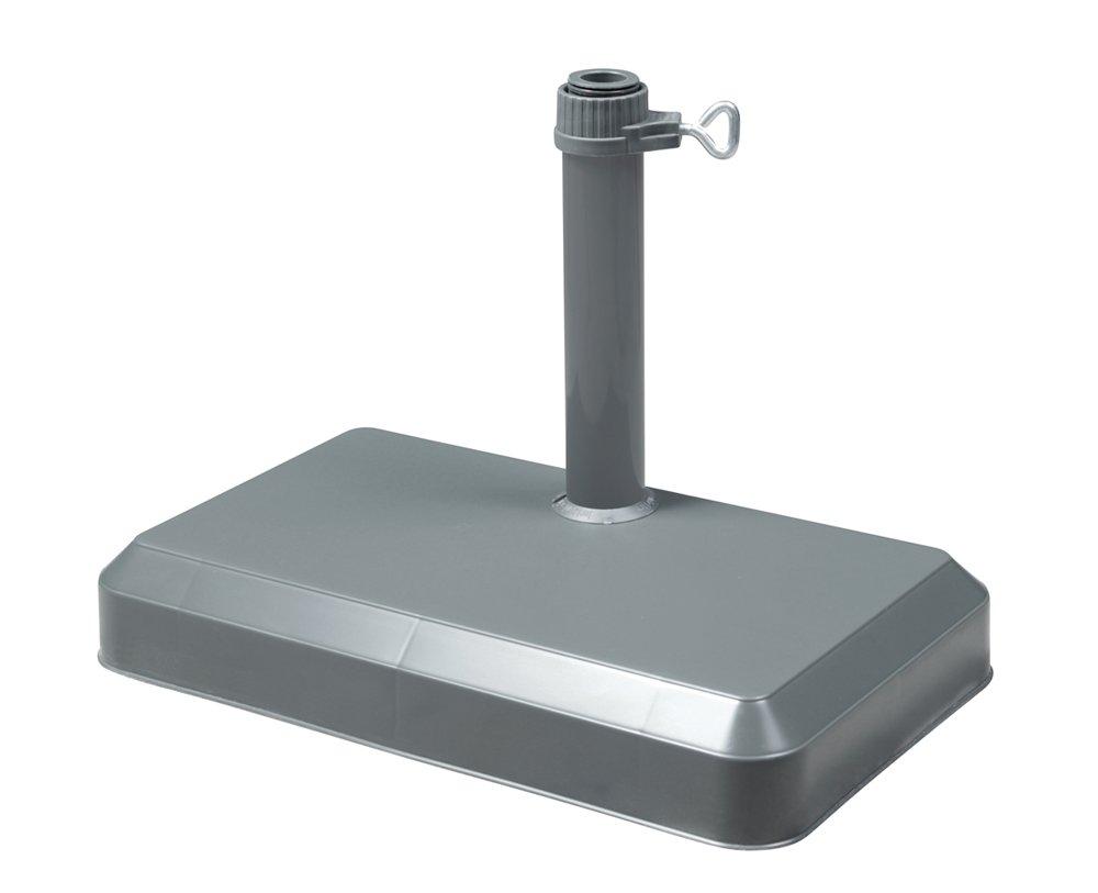 F/üllgewicht Wasser 17 Liter//Sand 20 kg Doppler Balkonf/üllschirmst/änder anthrazit f/ür Rohr bis 33mm