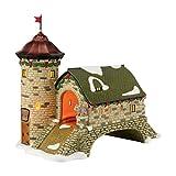 Department 56 Alpine Village Rudesheim Turmbrucke Lit House, 6.4 inch