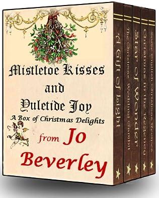 book cover of Mistletoe Kisses and Yuletide Joy
