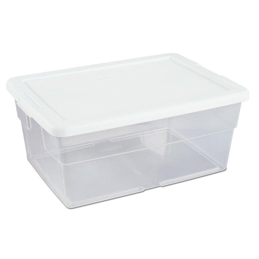 Amazon.com: Sterilite 16448012 16 Quart Storage Box: Home & Kitchen