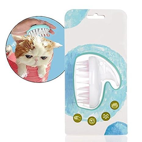 Nclon Perro Cepillo Y Gato Cepillo,Reduce Vertimiento,Impermeables Cepillo Elimina Los enredos de,Limpia,De vertientes,Mejor Perro Y Gato Aseo Cepillo-B