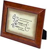 The Serenity Prayer Wood Finish 5 x 7 inch Framed Art with Easel Back