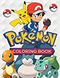 Pokemon Coloring Book: Great Coloring Book for Kids Ages 4-12