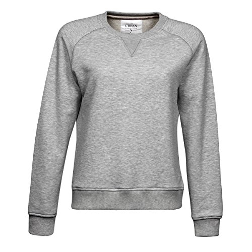 Tee Jays Ladies Urban Sweatshirt (2XL) (Heather Grey)