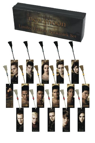 Twilight New Moon Amazon Exclusive! Bookmark Set of 16 in Limited Edition Collectors Case