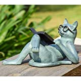 Cheap SPI Home 33650 Literary Cat Garden Sculpture