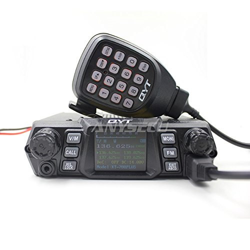 (100W High power QYT KT-780 Plus VHF136-174MHz Single Band Mobile Radio with Colorful Display)