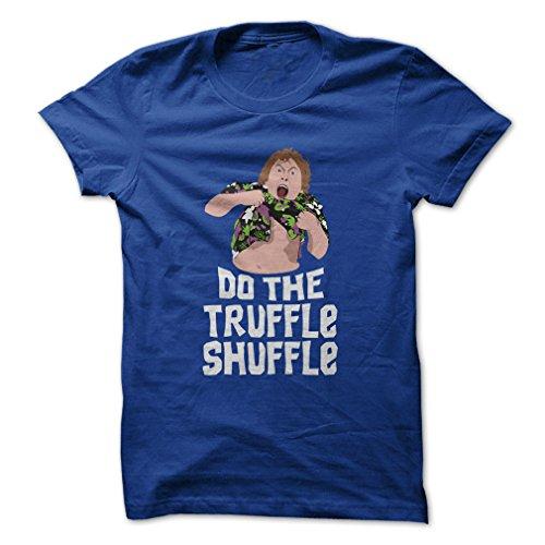(Do The Truffle Shuffle-T-Shirt/Royal Blue/2XL - Made On Demand in USA)