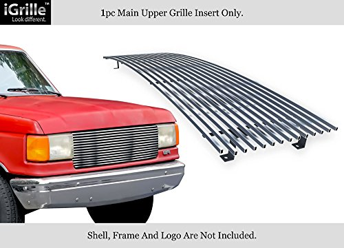 APS for 87-91 Ford Bronco/F-Series Pickup Stainless Steel Billet Grille Insert #N19-C90058F ()