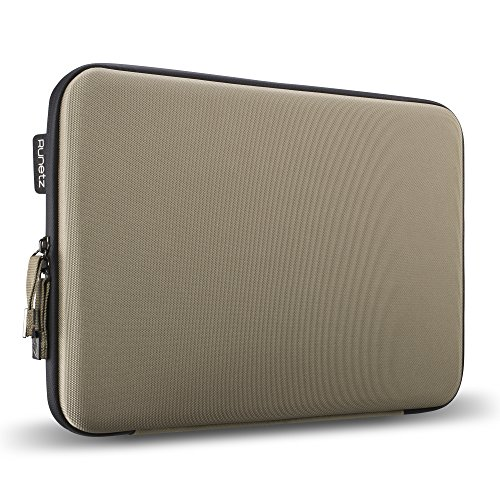 """Runetz - 15"""" BROWN Hard Sleeve for MacBook Pro 15.4"""" with or"""