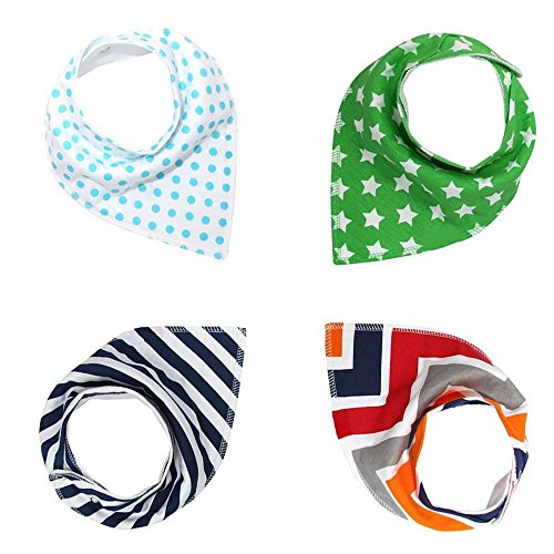 Bandana Absorbent Organic Cotton Patterns