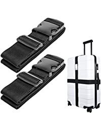 Luggage Straps Suitcase Belt Travel Accessories, 1.96 in W x 6.56 ft L
