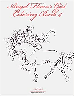 angel flower girl coloring book 4 angels demons fairies cat girls and other fantasy womens bodies volume 4 nick snels 9781505877113 amazoncom - Flower Girl Coloring Book