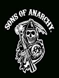 Original Reaper Sons of Anarchy Super Plush Throw Blanket