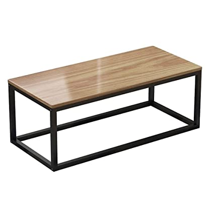 Magnificent Amazon Com Hoiho Rectangle Pine Coffee Table Simple Unemploymentrelief Wooden Chair Designs For Living Room Unemploymentrelieforg