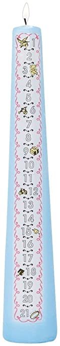 Celebration Candles Musical 1 21 Year Numbered Birthday Candle Blue Discontinued By Manufacturer