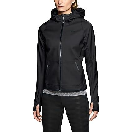 b63476149842 Amazon.com  Nike Women s Hypertech Full-Zip Training Hoodie
