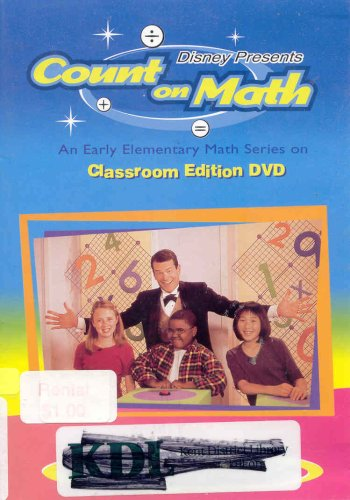 Disney Presents: Count on Math - An Early Elementary Math Series on Classroom Edition DVD