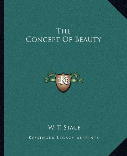 The Concept Of Beauty ebook