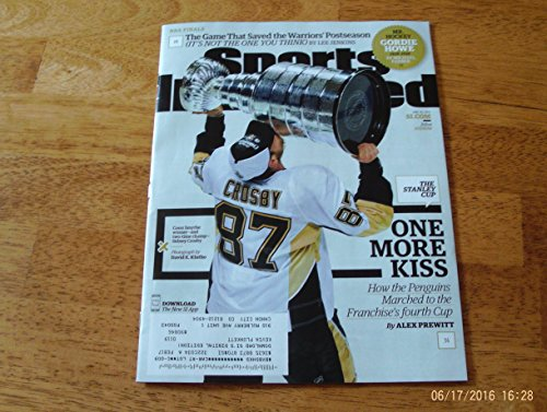 SPORTS ILLUSTRATED MAGAZINE JUNE 20, 2016 SIDNEY CROSBY PITTSBURGH PENGUINS WIN STANLEY CUP, MR. HOCKEY GORDIE HOWIE 1928-2016, NBA FINAL CAVS & WARRIORS