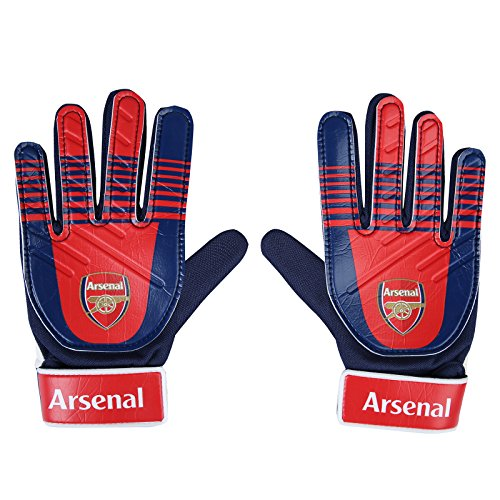 Arsenal Youth Home Jersey (Arsenal FC Official Soccer Gift Youths Goalkeeper Goalie Gloves)