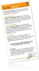 Gluten Free Dining Out Cards (English and Spanish Edition)