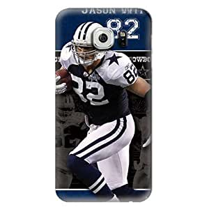 NFL Hard Case For Samsung Galaxy S6,Jason Witten Dallas Cowboys Design Protective Phone S6 Covers,Fashion Samsung Cell Case