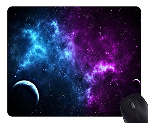 Mouse Pad pad Galaxy Space Customized Rectangle Non-Slip Rubber Mousepad Gaming Mouse Pad