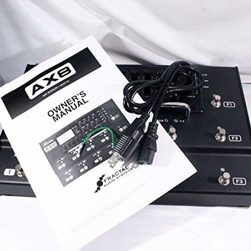Fractal Audio AX8 Amp Modeler/Multi-FX Processor: Amazon in