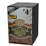 Natural Brew Coffee Filters - 3 pk. - 100 ct. each. A1