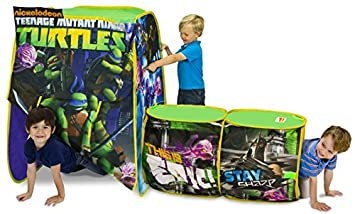 Playhut Teenage Mutant Ninja Turtles Adventure Hut Tent  sc 1 st  Amazon.com & Amazon.com: Playhut Teenage Mutant Ninja Turtles Adventure Hut ...
