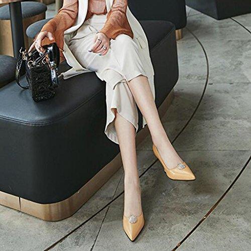 5 5 2 Absatz Stilettos CN37 Frau Schön XUERUI Pumps Schuhe Party UK4 Jung High Abschluss Farbe größe Prinzessin Heels EU37 8cm Arbeiten CRwwq7ZHx